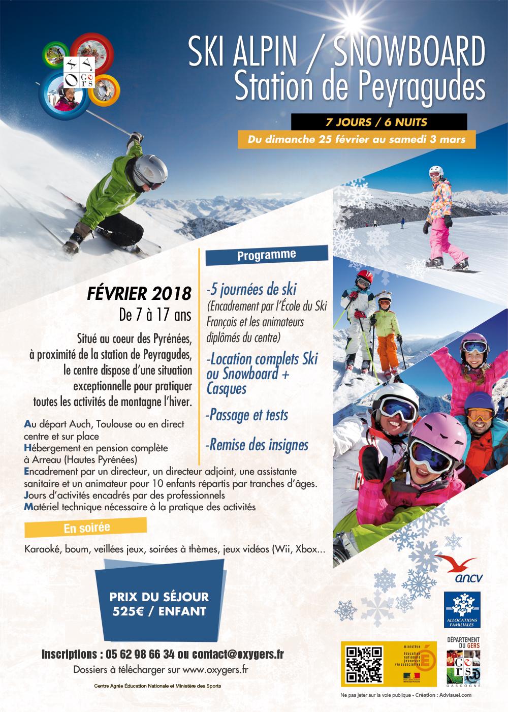 location ski 17 fevrier 2018