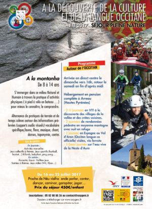 Colonie de vacances pyrénées montagne découvrir l'occitan
