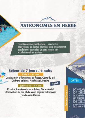 séjours astronomie pic du midi centre vacances pyrenees oxygers