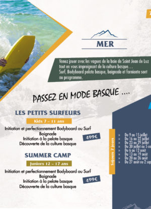 sejours mer surf enfants centre vacances pays basque oxygers
