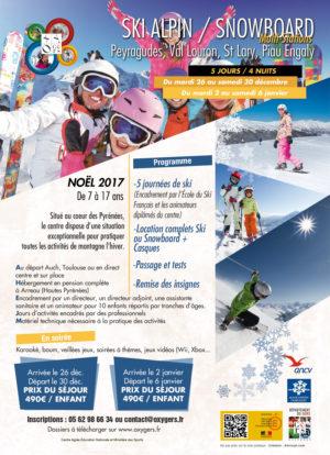 séjour ski snowboard multi stations peyragudes st lary centre vancances