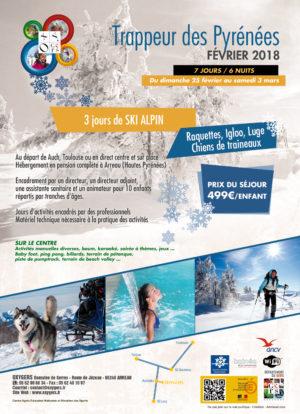 sejours hiver centre vacances ski pyrénées