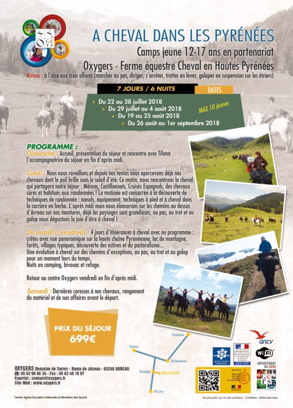 randonnées équestres séjours tous en selle itinerant pyrenees vacances été