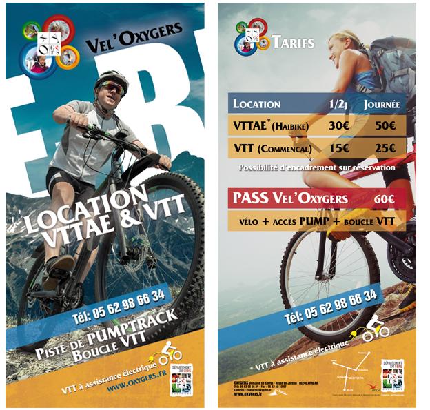 location et séjour vtt e-bike electrique pyrenees oxygers