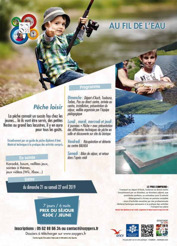stage de pêche enfants pyrénées 65