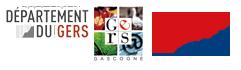 logo departement du gers et ANCV