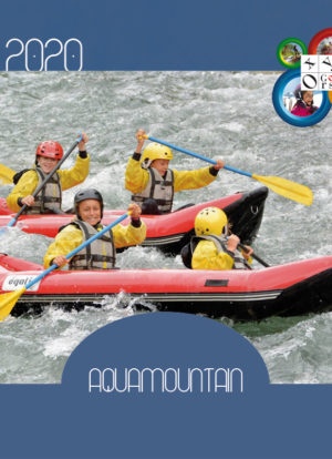 Stage Rafting Canyoning ados sport eaux vives AQUAMOUNTAIN Pyrénées