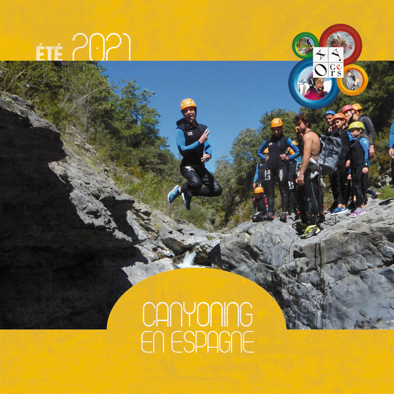 sejours canyoning espagne ados jeunes pyrenees oxygers