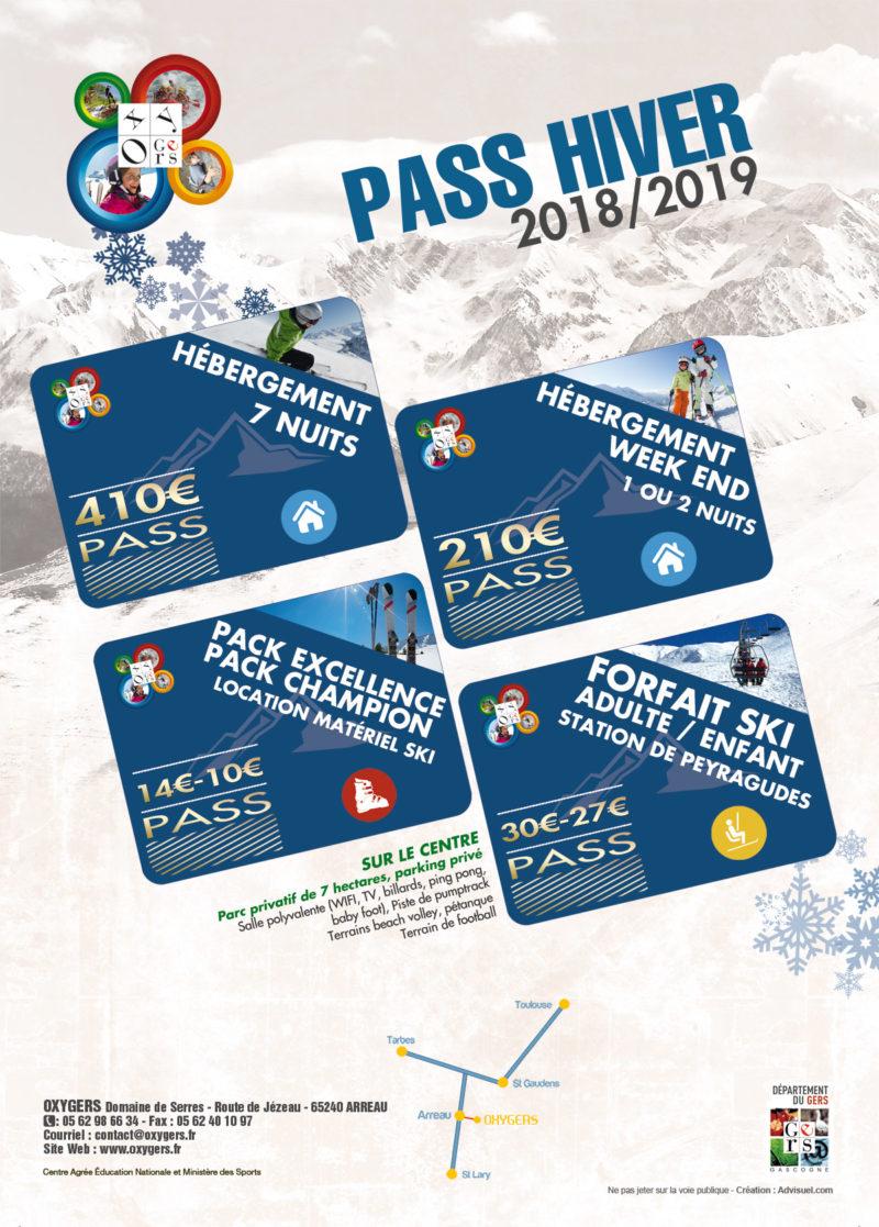 skipass peyragudes pyrénées forfait Oxygers pass ski hiver 2019