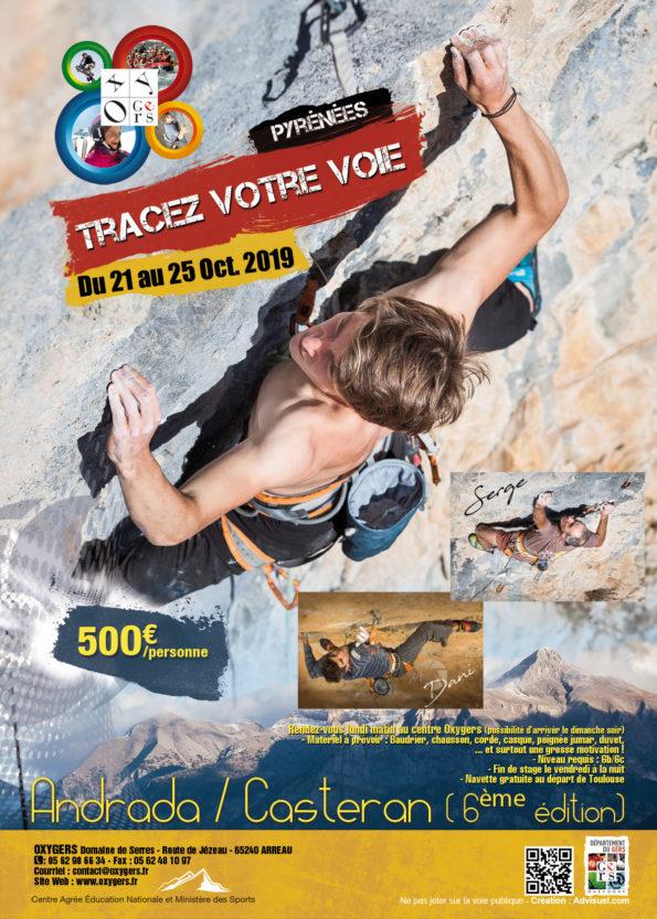 stage escalade pyrenees dani casteran team Petzl
