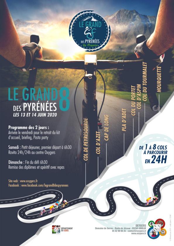 flyer le grand 8 course velo pyrenees