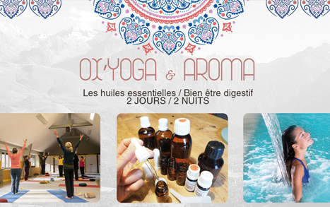 sejour weekend pyrenees yoga aroma