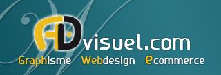 logo advisuel création de site internet à Toulouse