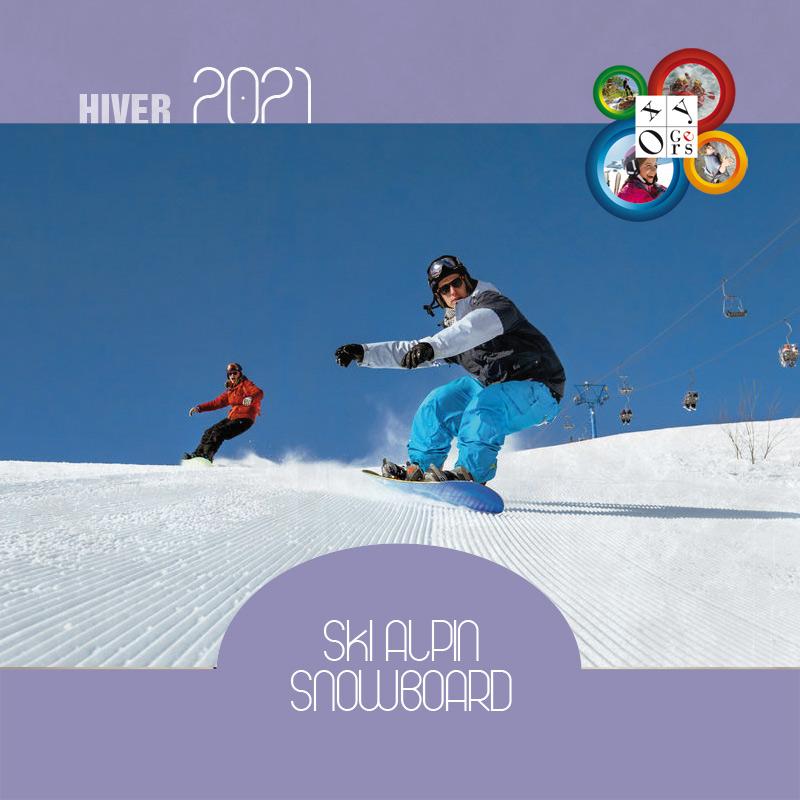 vacances ski alpin enfants ados pyrenees snowboard