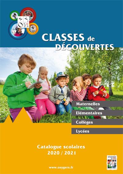 Catalogue OXYGERS classes de neige Hiver 2020 2021