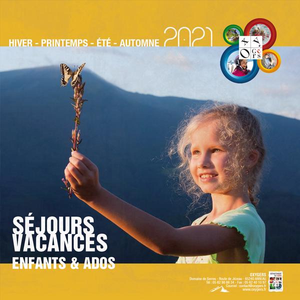 catálogo 2021 Francia oxygers pirineos campamento de verano